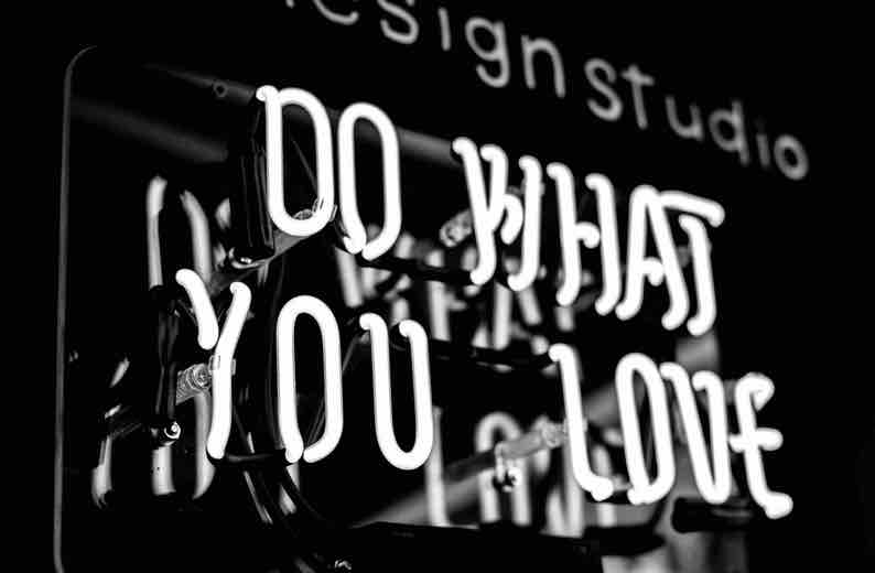 Sign saying Do What You Love
